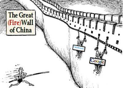 Dibalik Tembok Besar Firewall Sensor Internet China