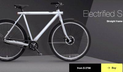 Sepeda Listrik Pertama Dengan Desain Menawan Dan Dengan Internet